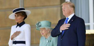 Trump Meets Queen, Escalates Feud with London Mayor
