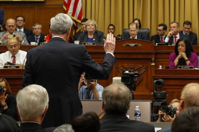 Mueller's Back-to-back Capitol Hill Appearances