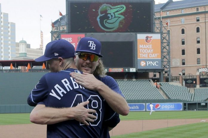 Perfect for 8 Innings, Rays Settle for 4-1 Win over Orioles