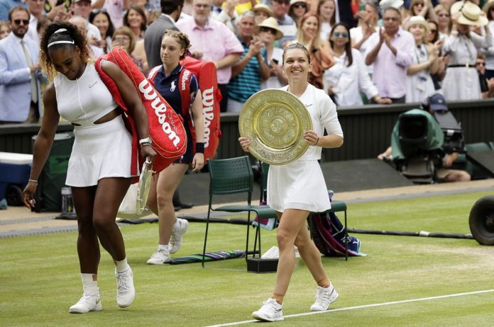Serena Williams' Bid for 24th Slam Foiled by Halep