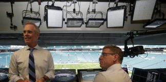 Super Bowl Practice Run for Fox at Dolphins' Preseason Game