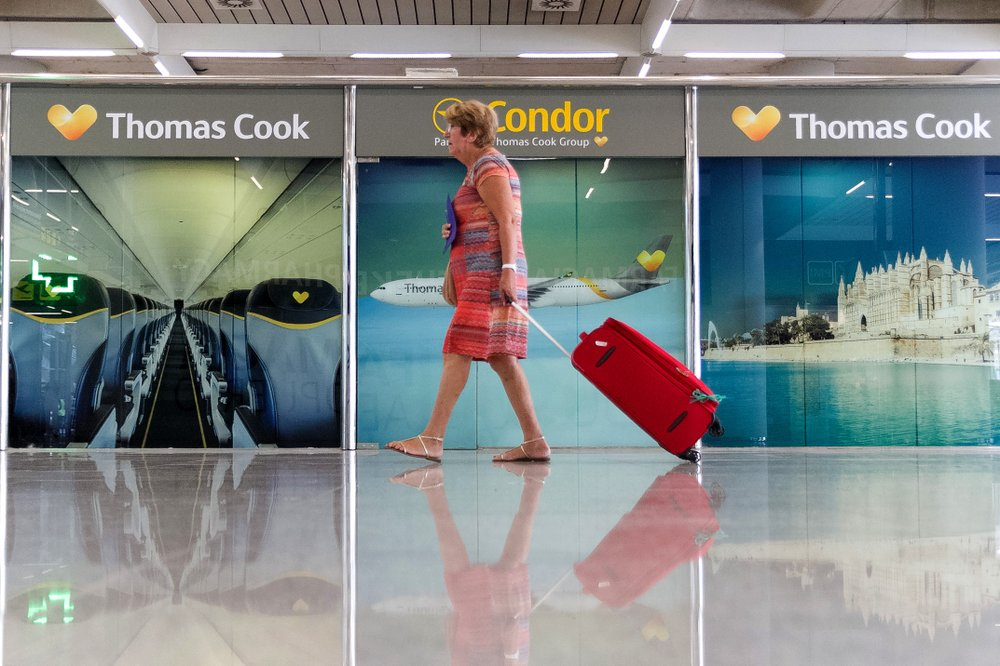 Hundreds of Thousands Stranded as Thomas Cook Collapses