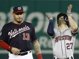 Astros Show up in World Series, Win Game 3 in DC 4-1