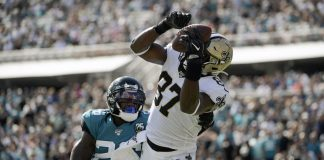 Bridgewater Stays Unbeaten as Saints Beat Jaguars 13-6