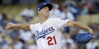 Buehler, Muncy lead Dodgers past Nats 6-0 in NLDS opener
