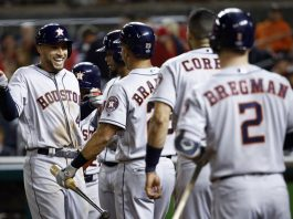 Cole, Powerful Astros Hammer Nats 7-1, Lead World Series 3-2