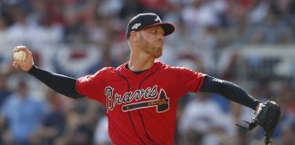 Foltynewicz, Duvall Lead Braves to 3-0 Win over Cardinals