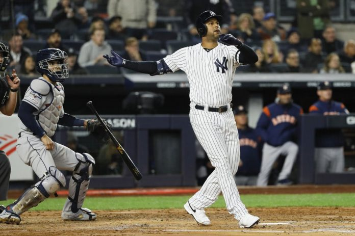 Hicks Lift Yanks over Astros, Close to 3-2 in ALCS