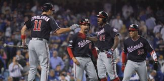 Kendrick Hit a Tiebreaking Grand Slam, Sends Nats to NLCS