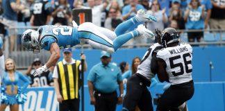 Panthers Hold off Jaguars 34-27, McCaffrey Scores 3 TDs