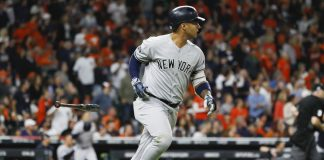 Torres, Tanaka Lead Yankees over Astros 7-0 in ALCS Opener