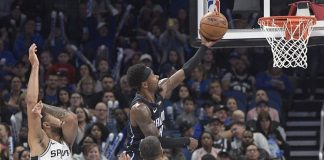 Fournier, Magic Hand Spurs 4th Straight Loss, 111-109