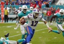 Josh Allen Throws 3 TD Passes to Help Bills Beat Miami 37-20