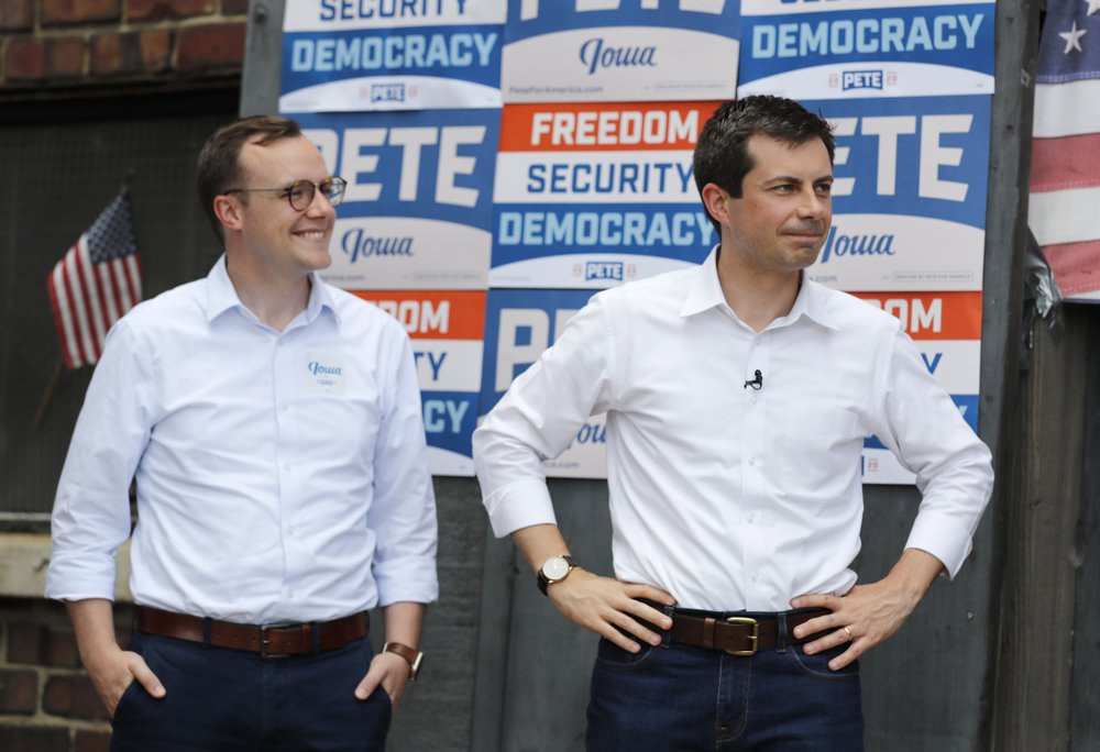 Pete Buttigieg Aimed High Early - Pete with his husband