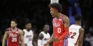 Richardson Scores 32 to Lead 76ers Past Butler, Heat