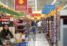 Walmart Offers Holiday Cheer as Traditional Peers Struggle