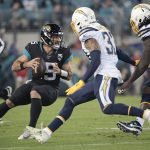 Chargers End Skid, Hand Jaguars 5th Straight Lopsided Loss