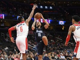 Fournier Scores 31, Magic Beat Beal, Wizards 127-120