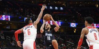 Fournier Scores 31, Magic Beat Beal, Wizards 127-120