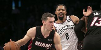 Heat Score Final 10 Points, Edge Nets 109-106