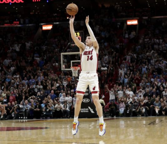 Herro the Hero for Heat, Who Beat Bulls 110-105 in Overtime