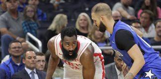 James Harden Scores 54 Points, Rockets Rout Magic 130-107