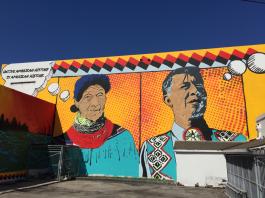 Miccosukee Heroes New Mural in Wynwood