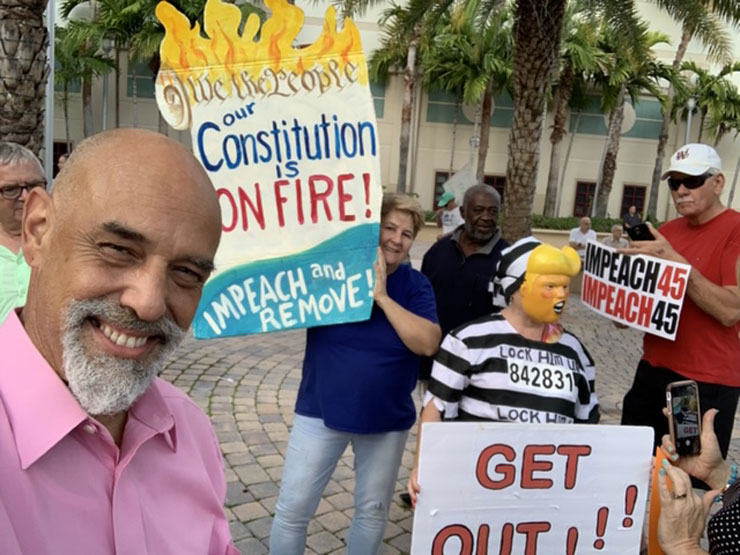 """""""Nobody is Above the Law"""" Protests in West Palm Beach"""