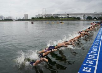 Pressure to Move Tokyo Olympics Open-water Venue