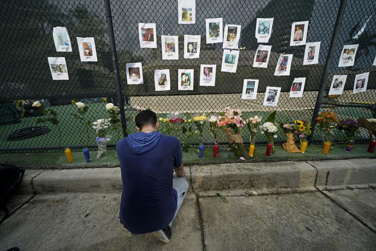 Friends, family describe missing in Florida condo collapse